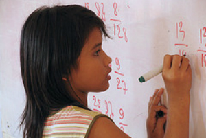 maths in classroom
