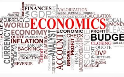 Word map of Economics