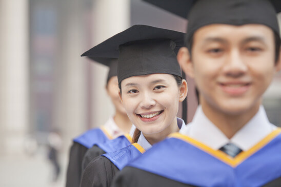 Group of graduates in their graduation outfit - Home Tuition Hotspot Singapore