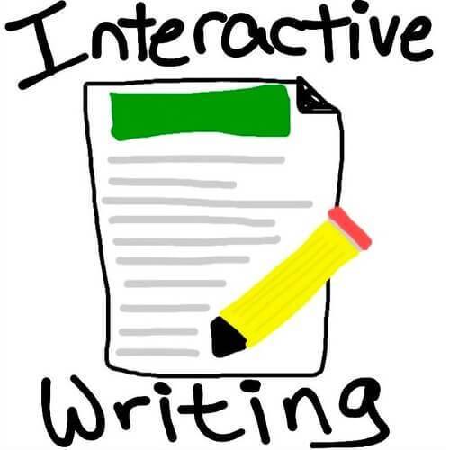 Drawing of interactive writing - Home Tuition Hotspot Singapore